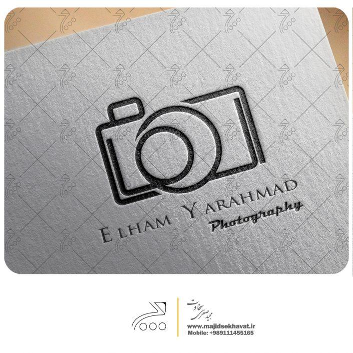 طراحی لوگو شخصی عکاسی برای خانم الهام یاراحمد