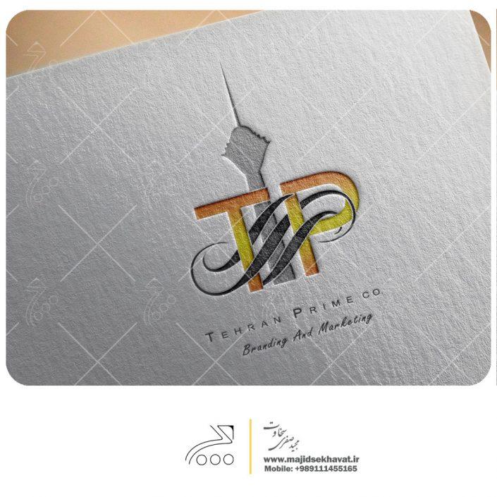 طراحی لوگو برای شرکت تهران پرایم